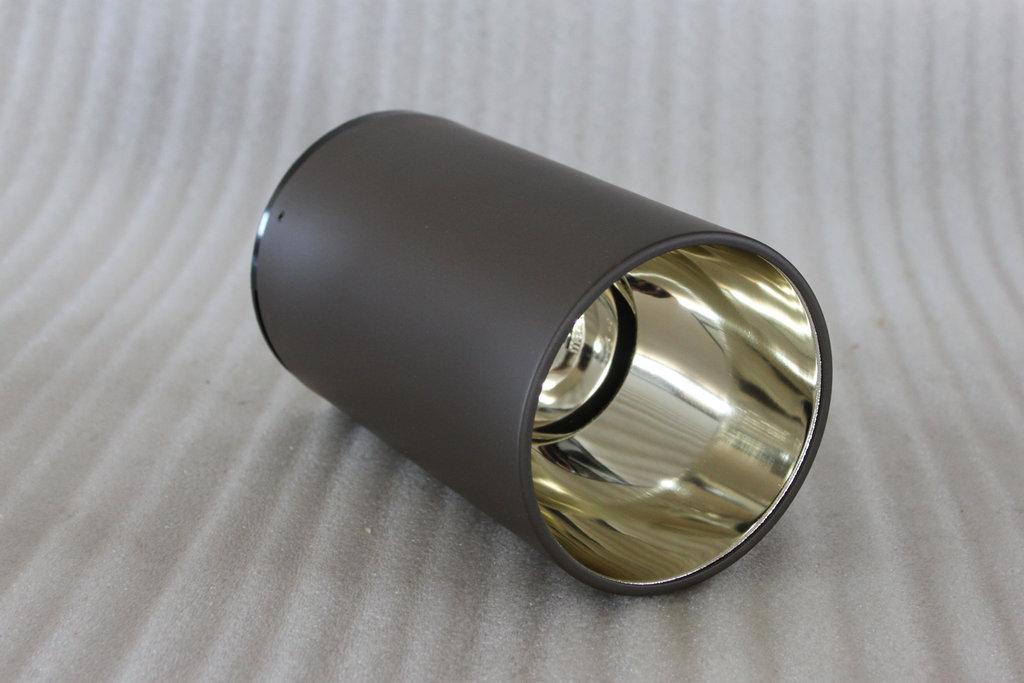 85005 erco aufbau downlight bronze d138mm h220mm 1xe27. Black Bedroom Furniture Sets. Home Design Ideas